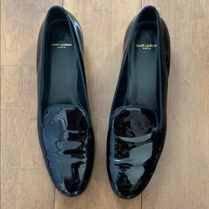 Saint Laurent Patent Loafers